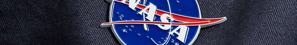 Thumbnail View 3: NASA Meatball Logo Pin