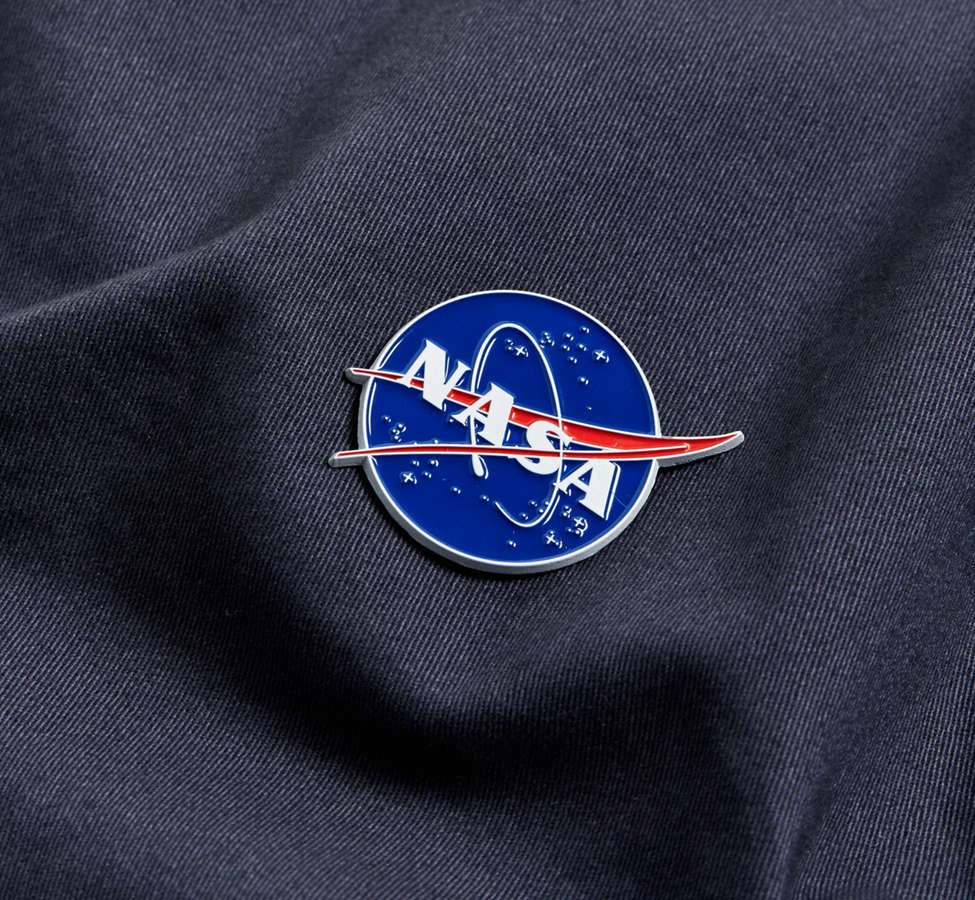 Slide View: 3: NASA Meatball Logo Pin