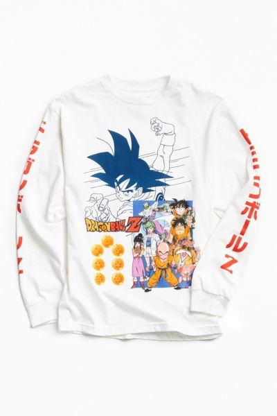T shirt manches longues dragon ball z goku urban for Order custom t shirts canada