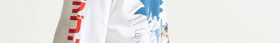 Thumbnail View 3: Dragon Ball Z Goku Long Sleeve Tee