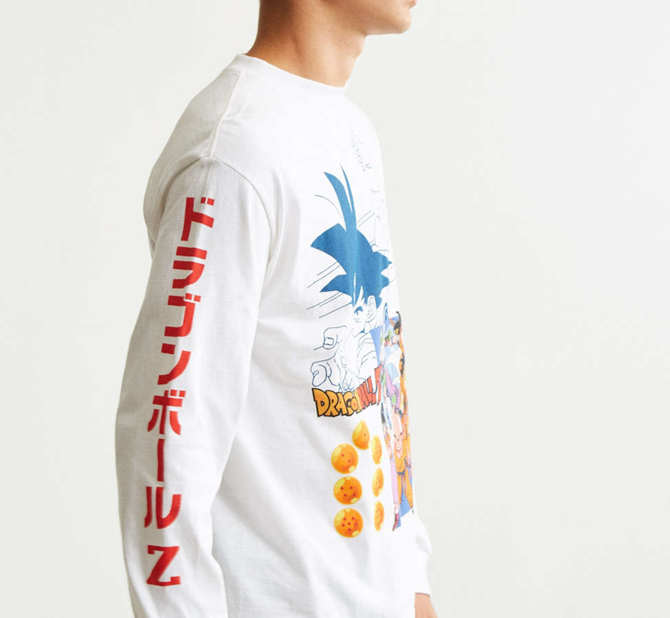 Slide View: 3: Dragon Ball Z Goku Long Sleeve Tee