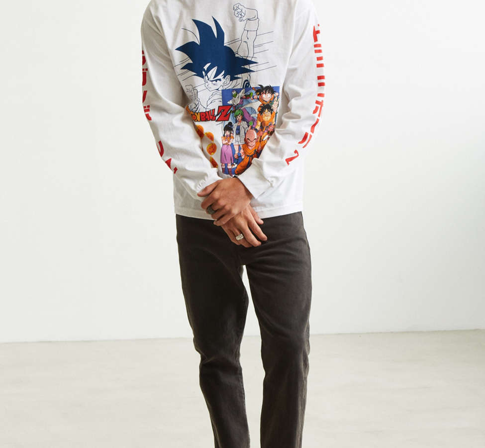 Slide View: 6: Dragon Ball Z Goku Long Sleeve Tee