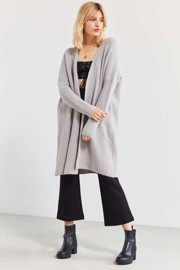Silence   Noise Lola Maxi Cardigan | Urban Outfitters