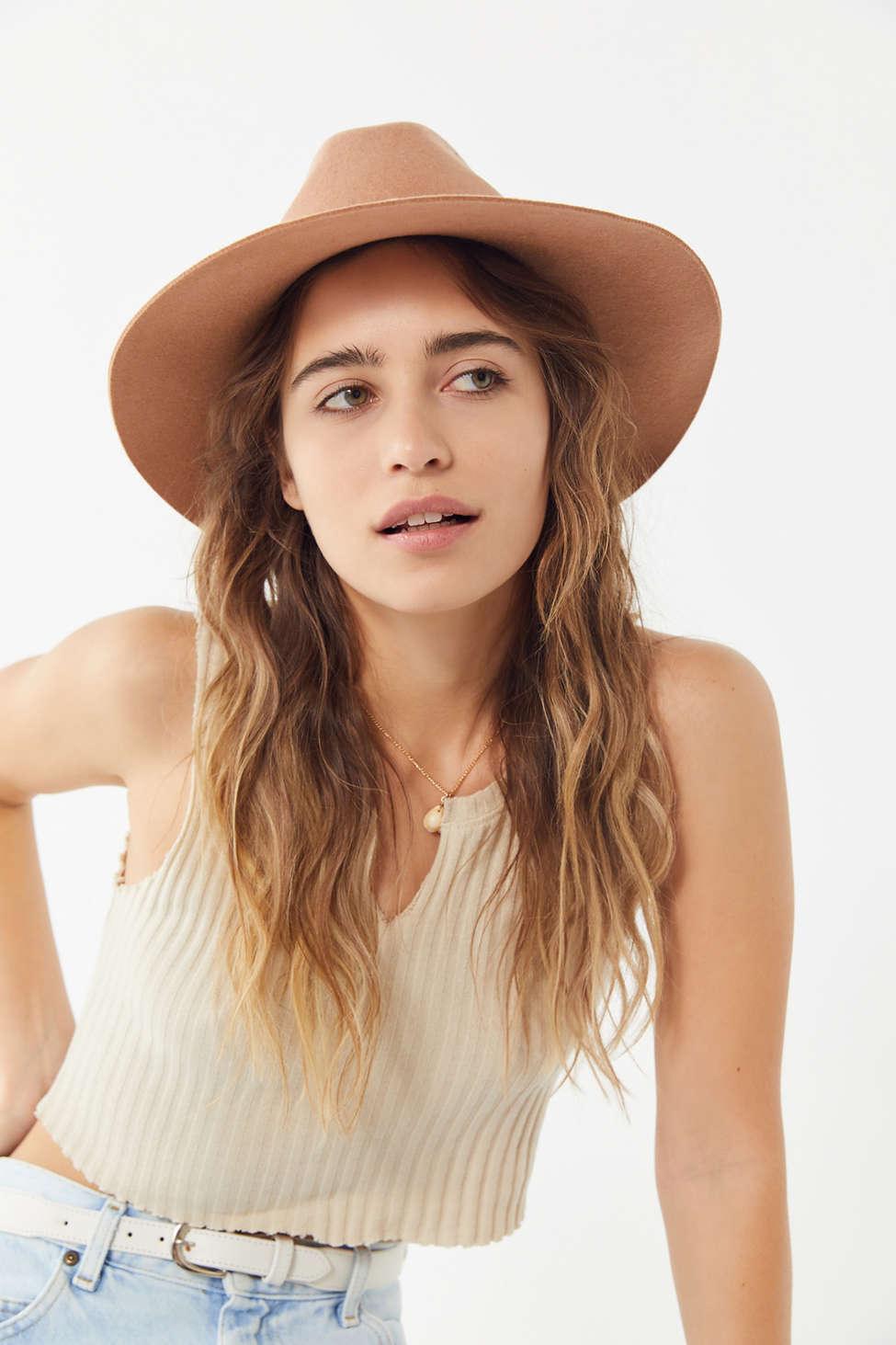 Slide View: 1: Anna Felt Panama Hat