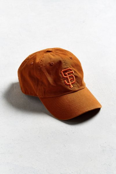 '47 Brand San Francisco Giants Tonal Baseball Hat - Dark Orange One Size at Urban Outfitters