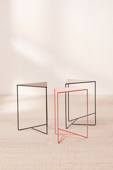 Coffee tables side tables urban outfitters triangle side table keyboard keysfo Choice Image