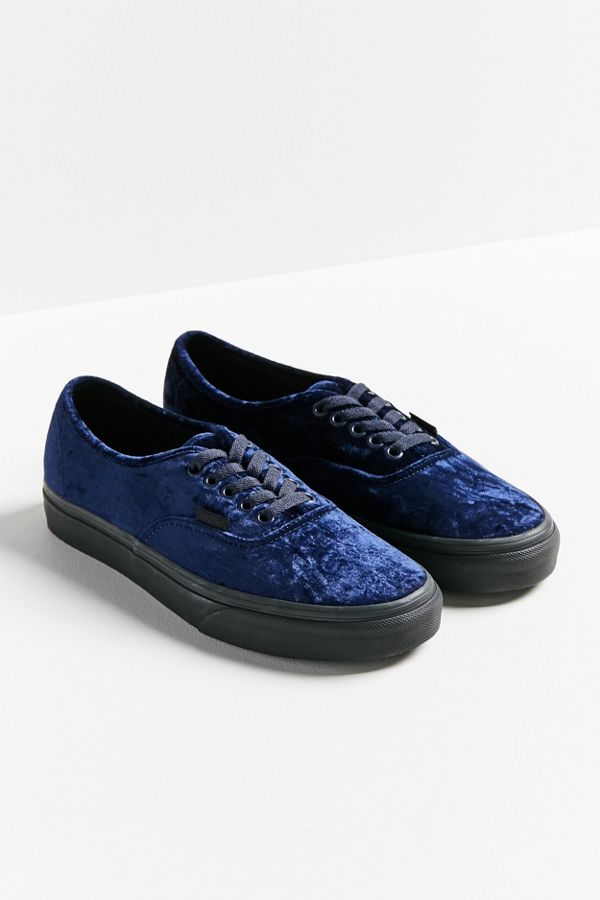vans zwart authentic