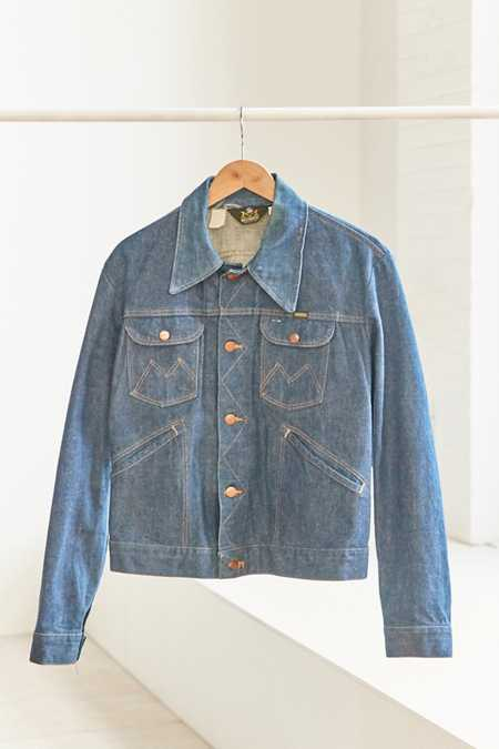 Vintage Maverick '70s Denim Trucker Jacket
