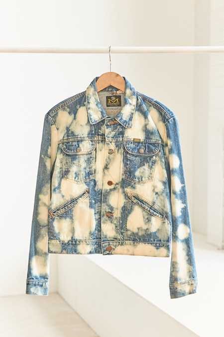 Vintage Maverick '70s Acid Wash Denim Trucker Jacket