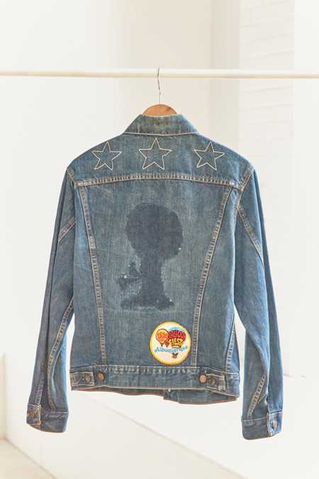 Vintage Levi's '70s Embroidered Bob Denim Trucker Jacket