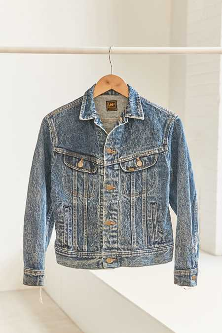 Vintage Lee '80s Denim Trucker Jacket