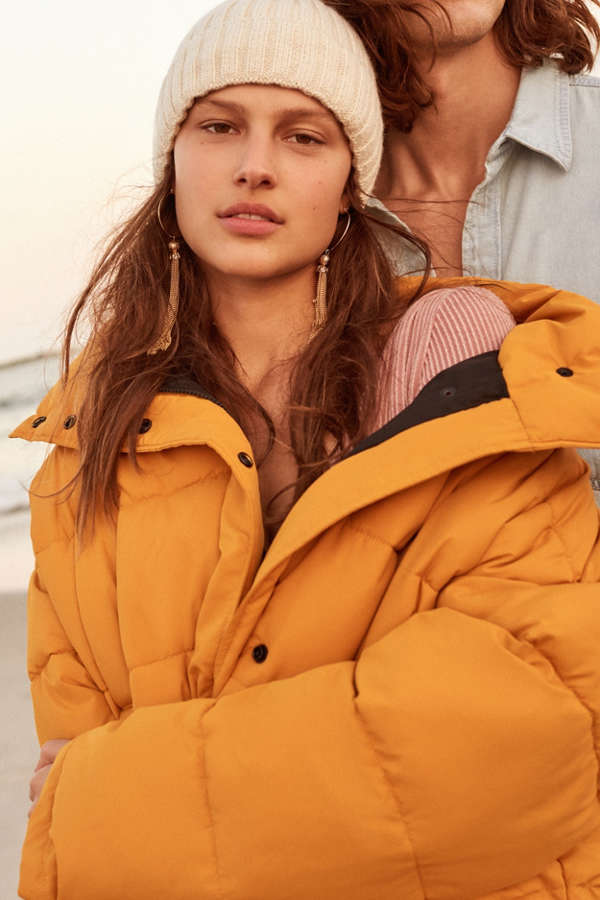 Silence   Noise Classic Puffer Jacket