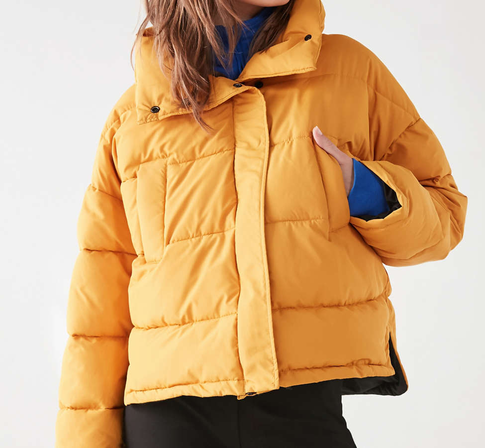 Slide View: 4: Silence + Noise Classic Puffer Jacket
