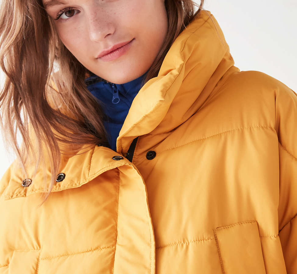 Slide View: 6: Silence + Noise Classic Puffer Jacket