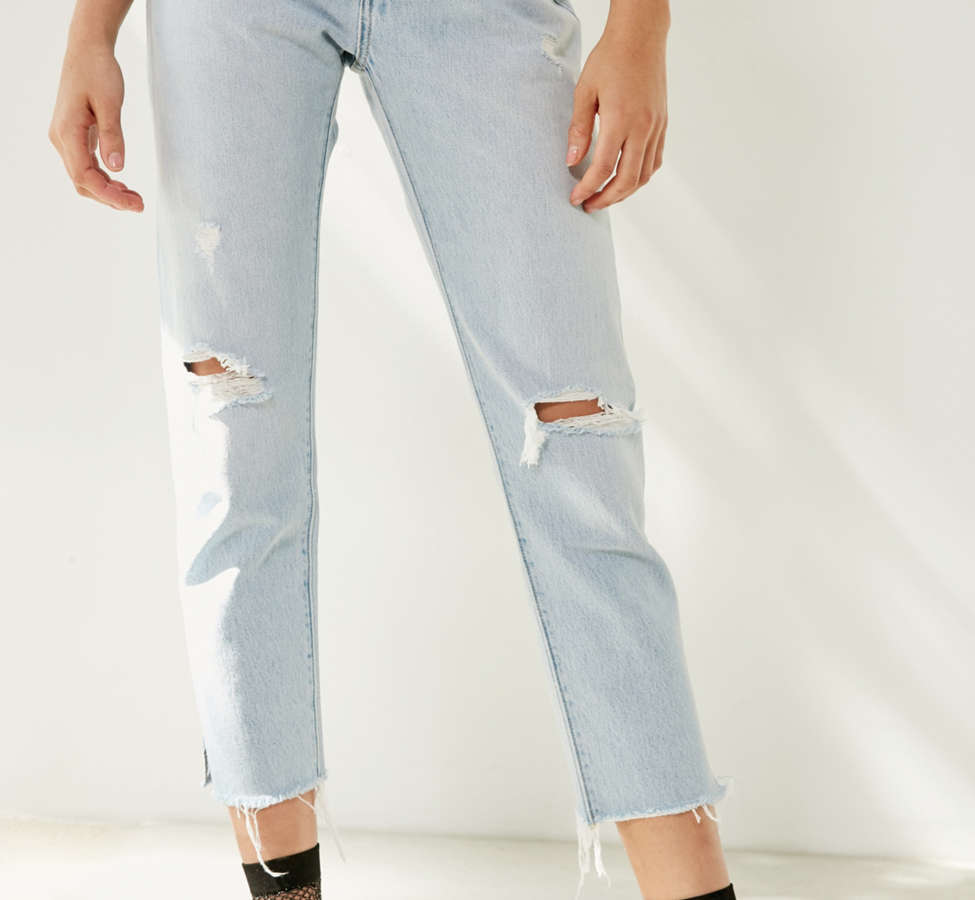 Slide View: 2: Levi's 501 Cropped Skinny Jean - Bowie Blue