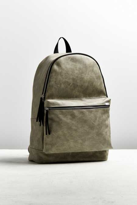 UO Faux Pebbled Leather Backpack