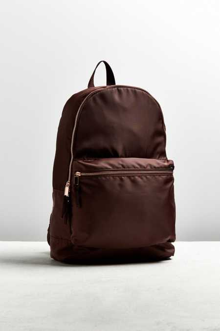 Slide View: 1: UO Satin Backpack