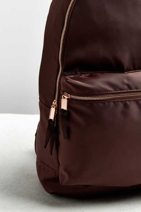 Slide View: 3: UO Satin Backpack