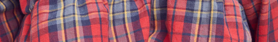 Thumbnail View 5: Urban Renewal Recycled Button-Down Peplum Flannel Shirt