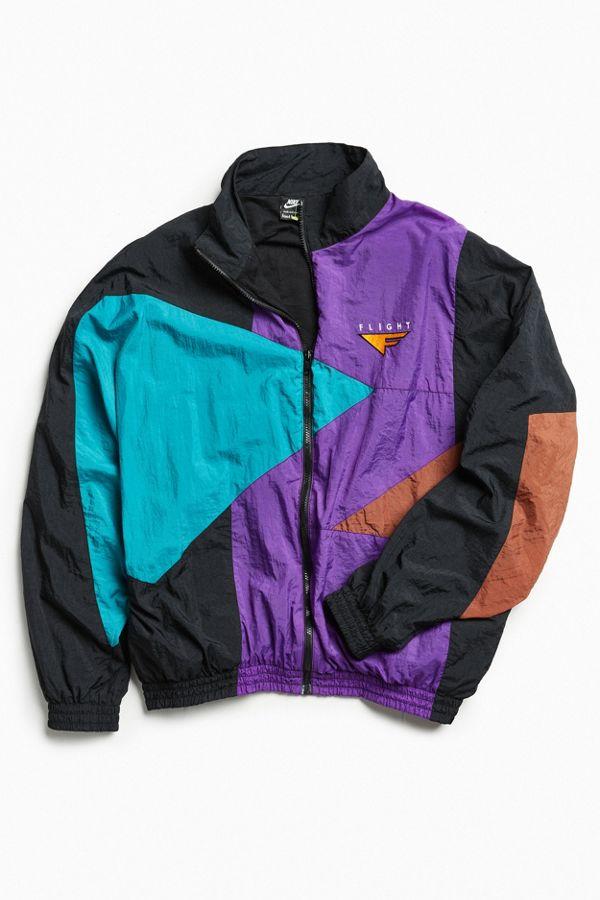 Vintage Nike Purple Windbreaker Jacket  3f14eed5b6a2