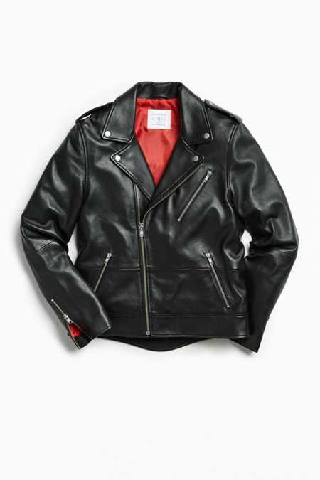 UO Leather Moto Jacket