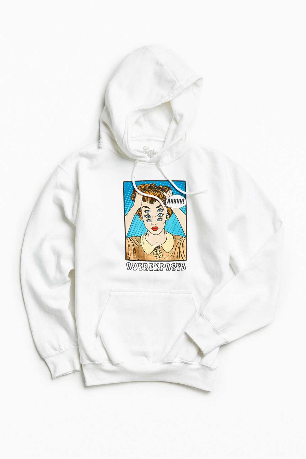 Slide View: 1: Overexposed Hoodie Sweatshirt