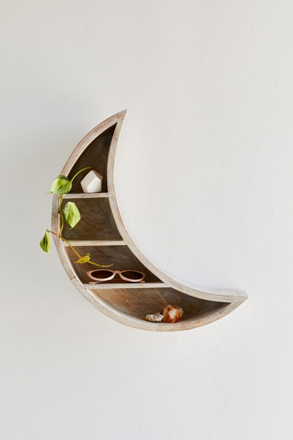 Crescent Moon Wall Shelf Urban Outfitters