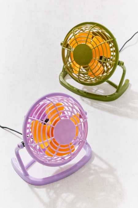 Colorblock USB Desktop Fan