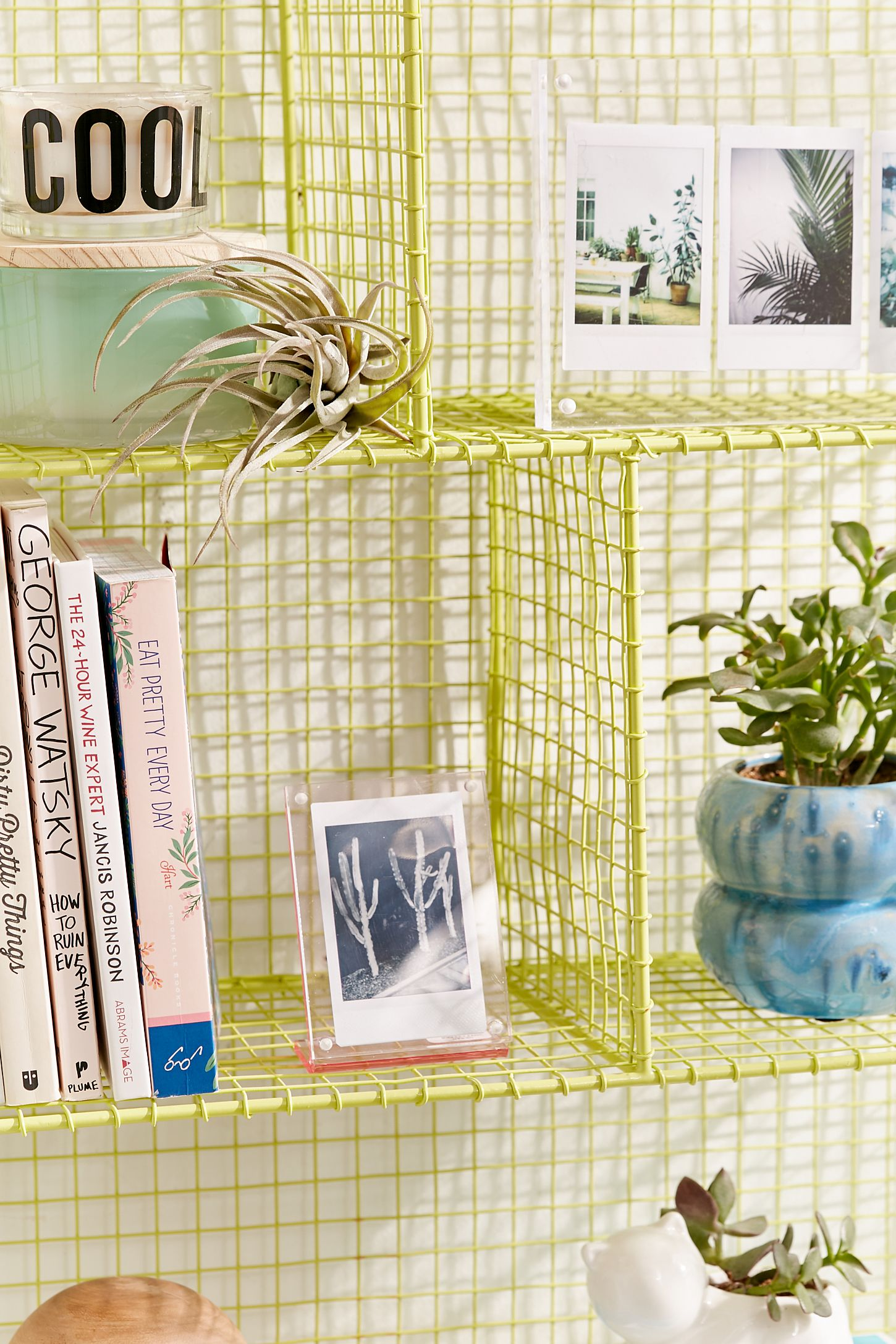 Fenced-In Wire Shelf | Urban Outfitters