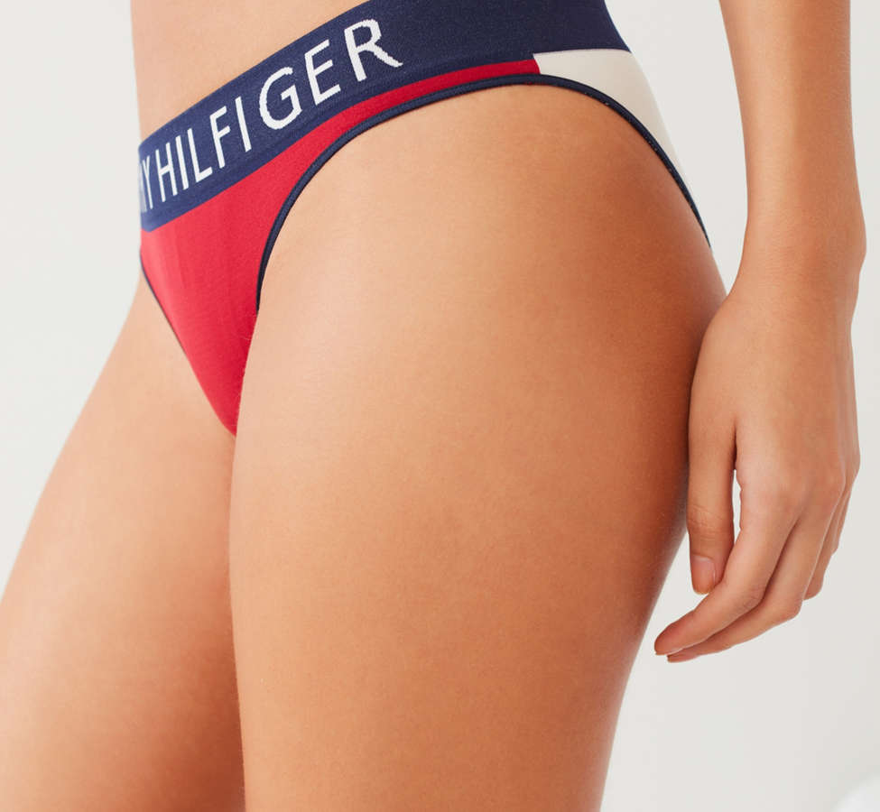 Slide View: 2: Bikini sans coutures Tommy Hilfiger