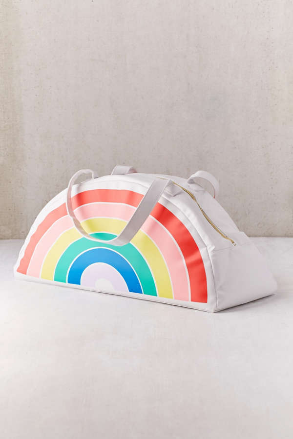 Slide View: 1: ban.do Rainbow Cooler Bag