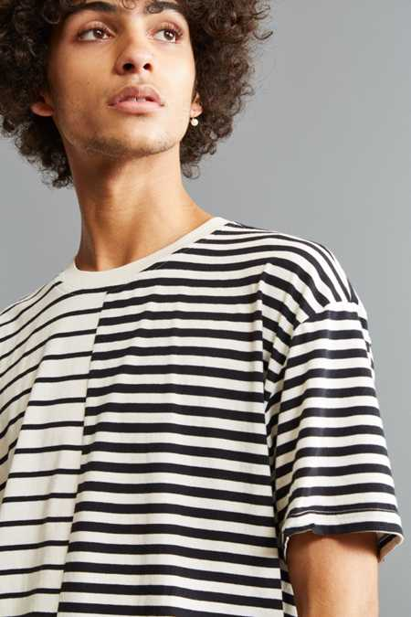 UO Spliced Stripe Tee