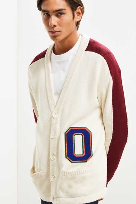 UO Varsity Cardigan Sweater