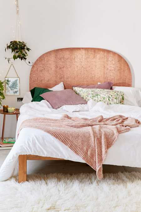 Blair Copper Headboard