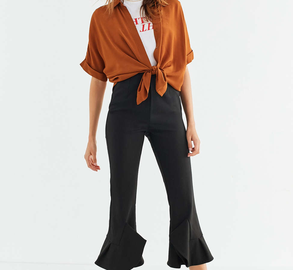 Slide View: 1: C/meo Collective Intermission High-Rise Kick Flare Pant