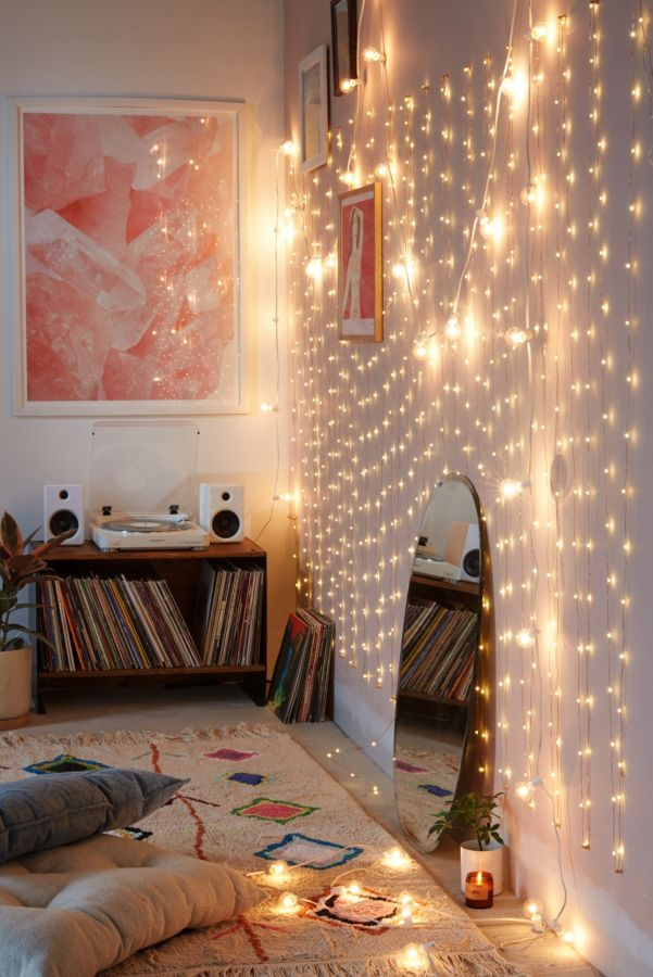 Extra long copper firefly string lights urban outfitters for Tumblr room decor for sale