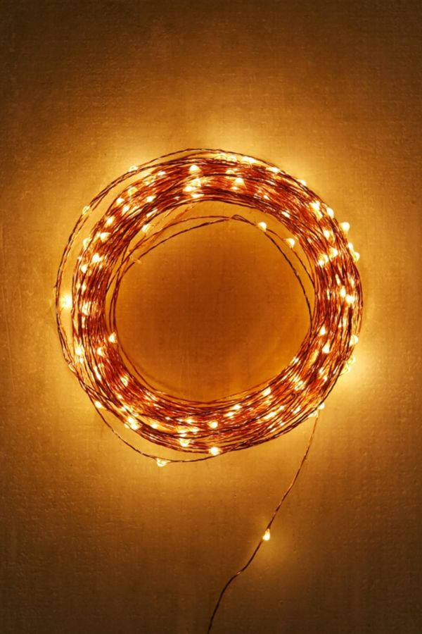 Extra Long Copper Firefly String Lights Urban Outfitters Canada