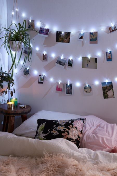 photo clip galaxy string lights - String Lights For Bedroom