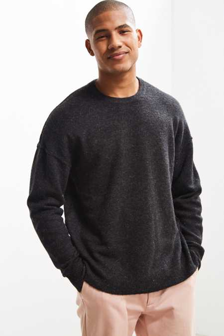 UO Lofty Wool Crew Neck Sweater