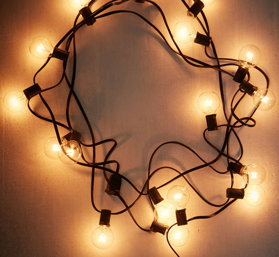 Slide View: 2: Globe String Lights