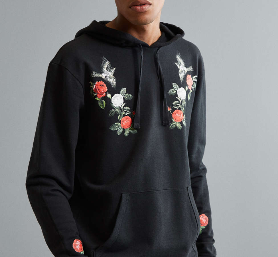 Slide View: 2: Fanclub Never Ending Pleasure Embroidered Hoodie Sweatshirt