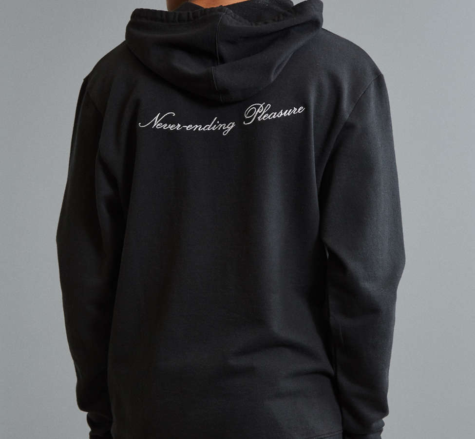 Slide View: 4: Fanclub Never Ending Pleasure Embroidered Hoodie Sweatshirt