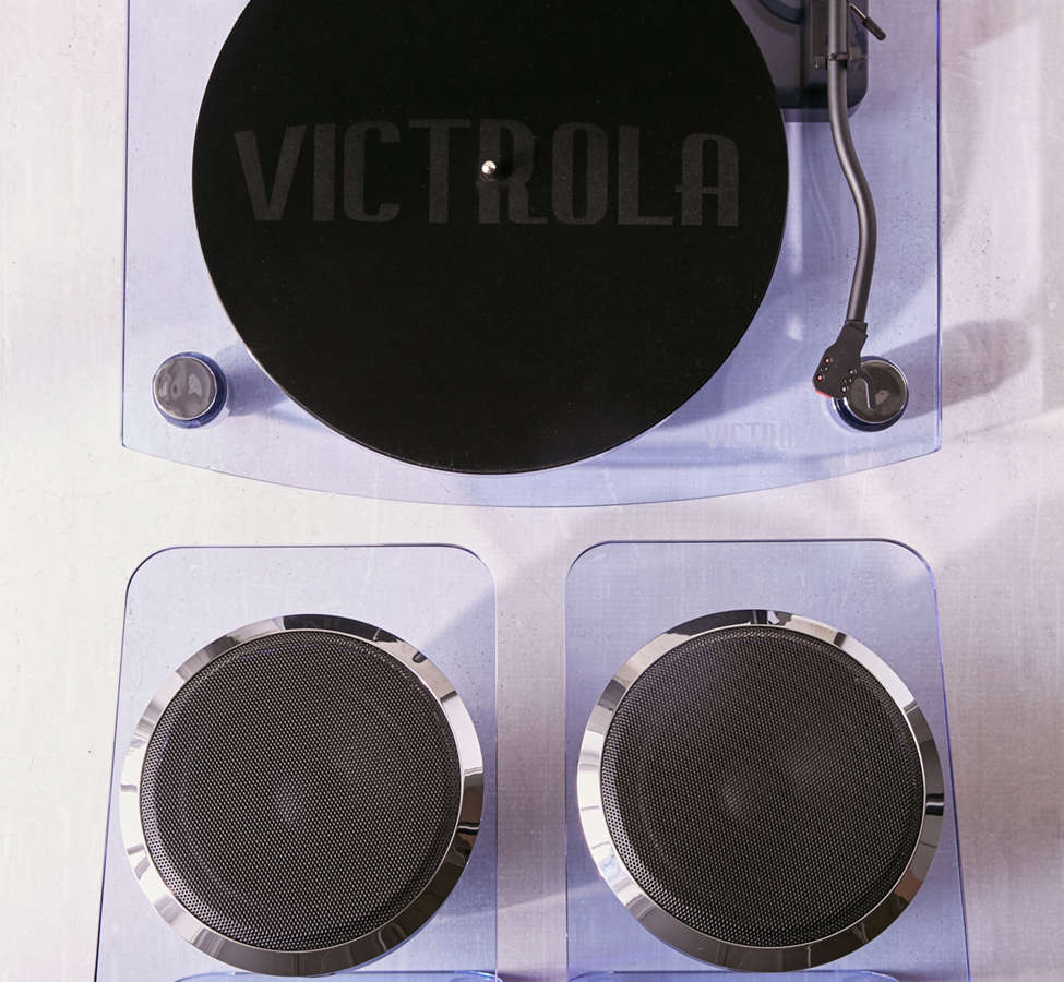 Slide View: 1: Victrola Modern Acrylic Bluetooth Turntable