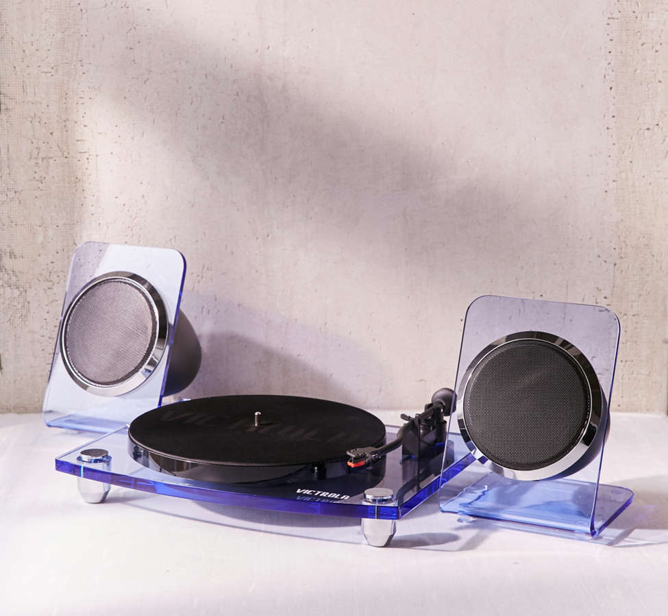 Slide View: 2: Victrola Modern Acrylic Bluetooth Turntable