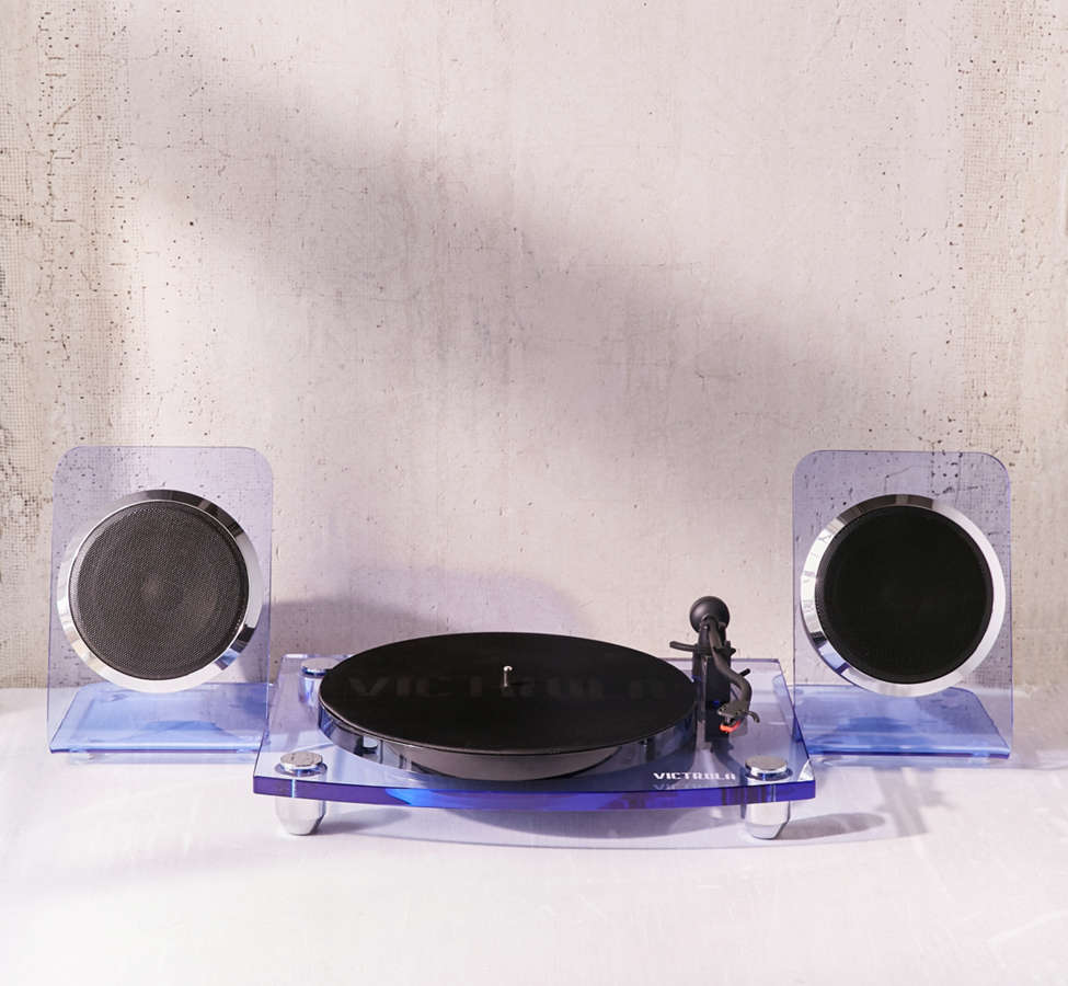 Slide View: 3: Victrola Modern Acrylic Bluetooth Turntable