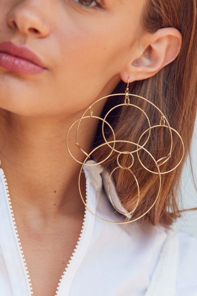 Looped Statement Earring