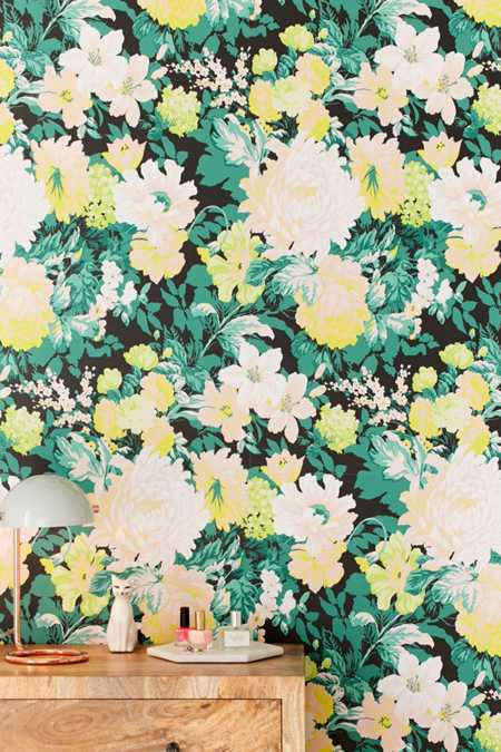 Madison Floral Removable Wallpaper