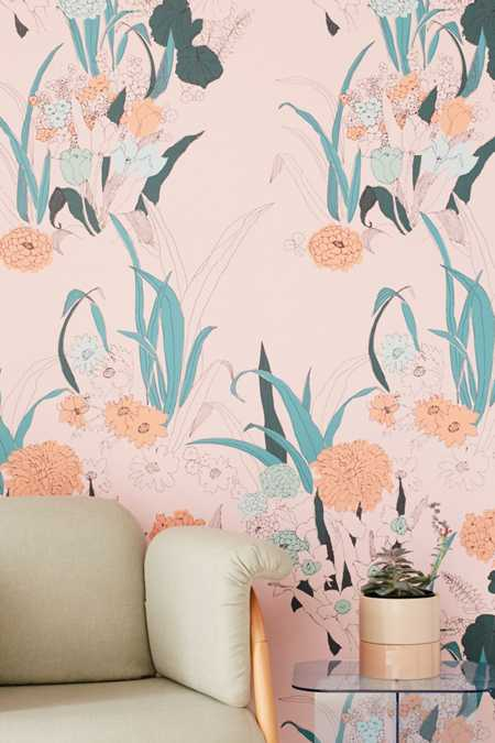 Willa Wildflower Removable Wallpaper