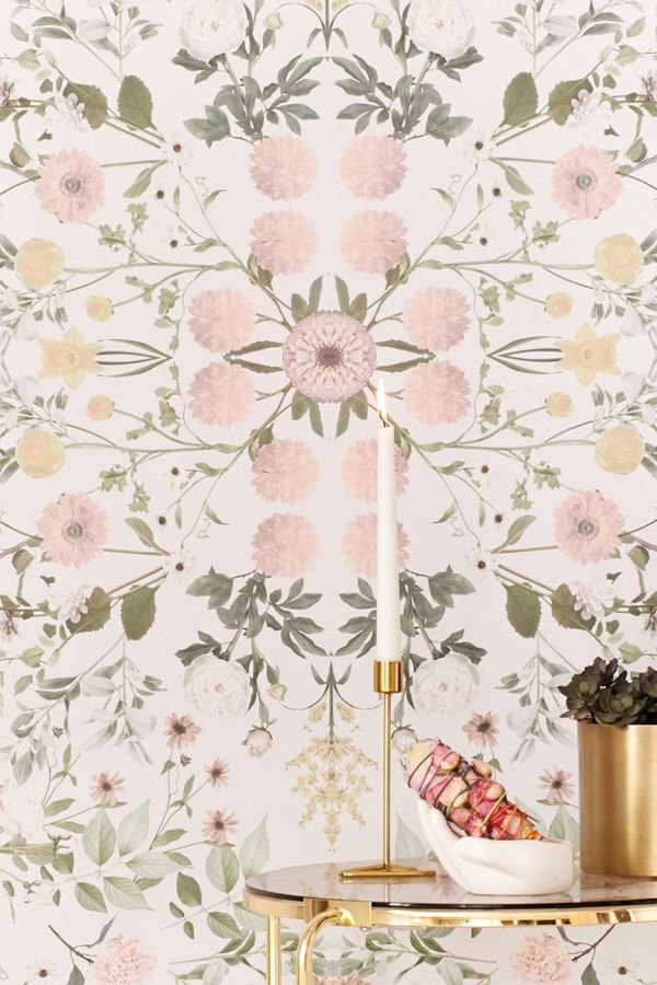 Slide View 1 Daniella Floral Removable Wallpaper