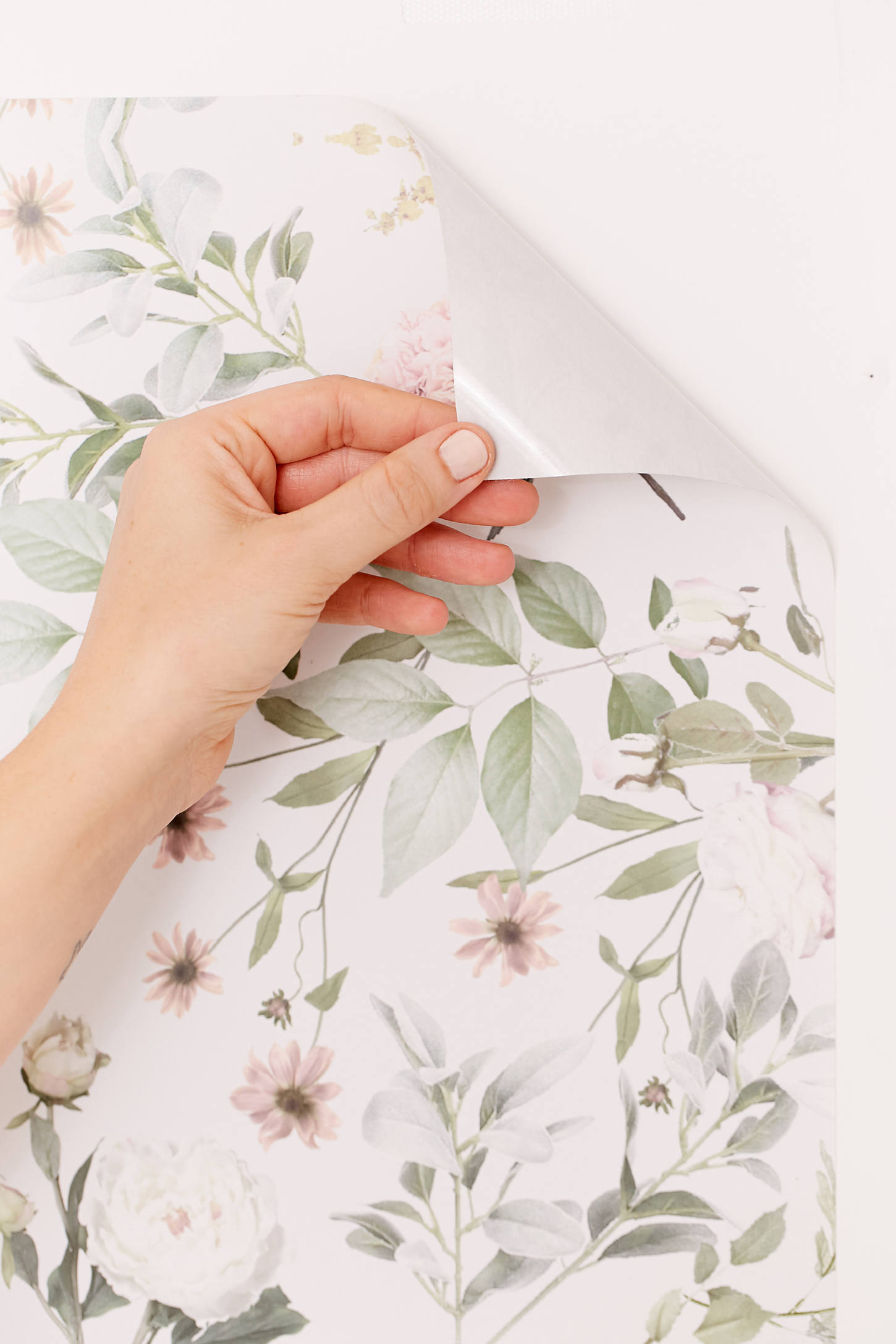 daniella floral removable wallpaper urban outfitters